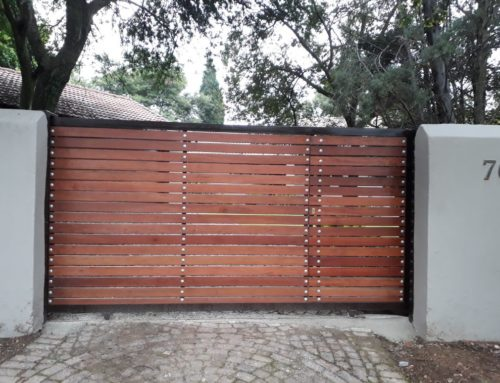 SECURITY AND DRIVEWAY GATE DESIGN IDEAS