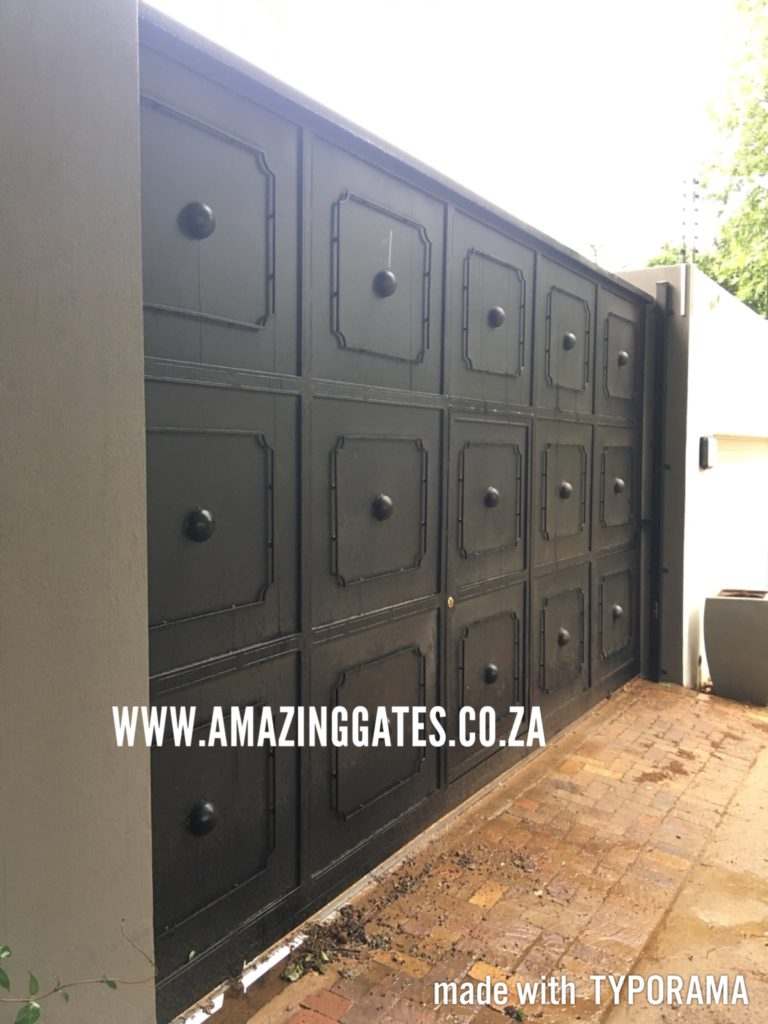 Driveway gates you just gotta see installed in