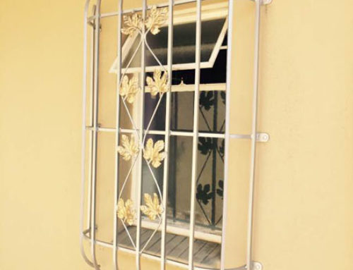 Strong metal burglar bars in gauteng