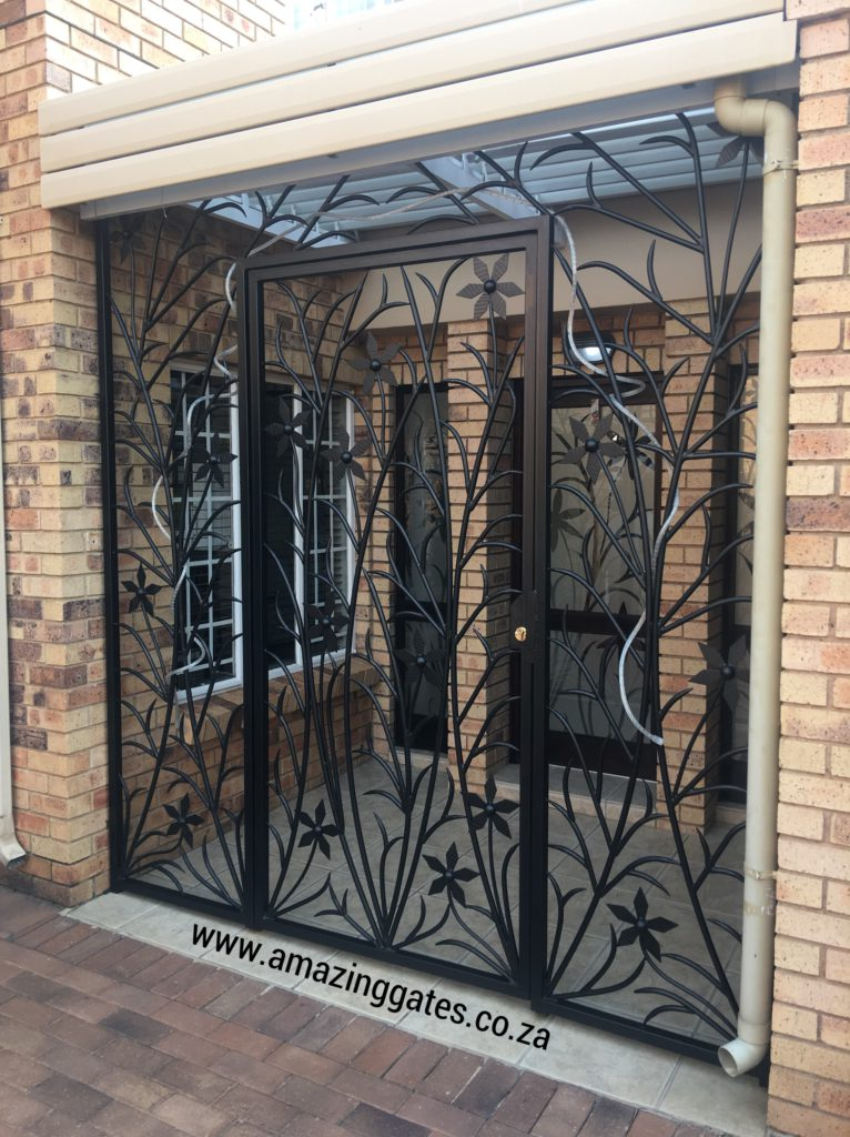 AWSOME WROUGHT IRON GATES IN SOUTH AFRICA