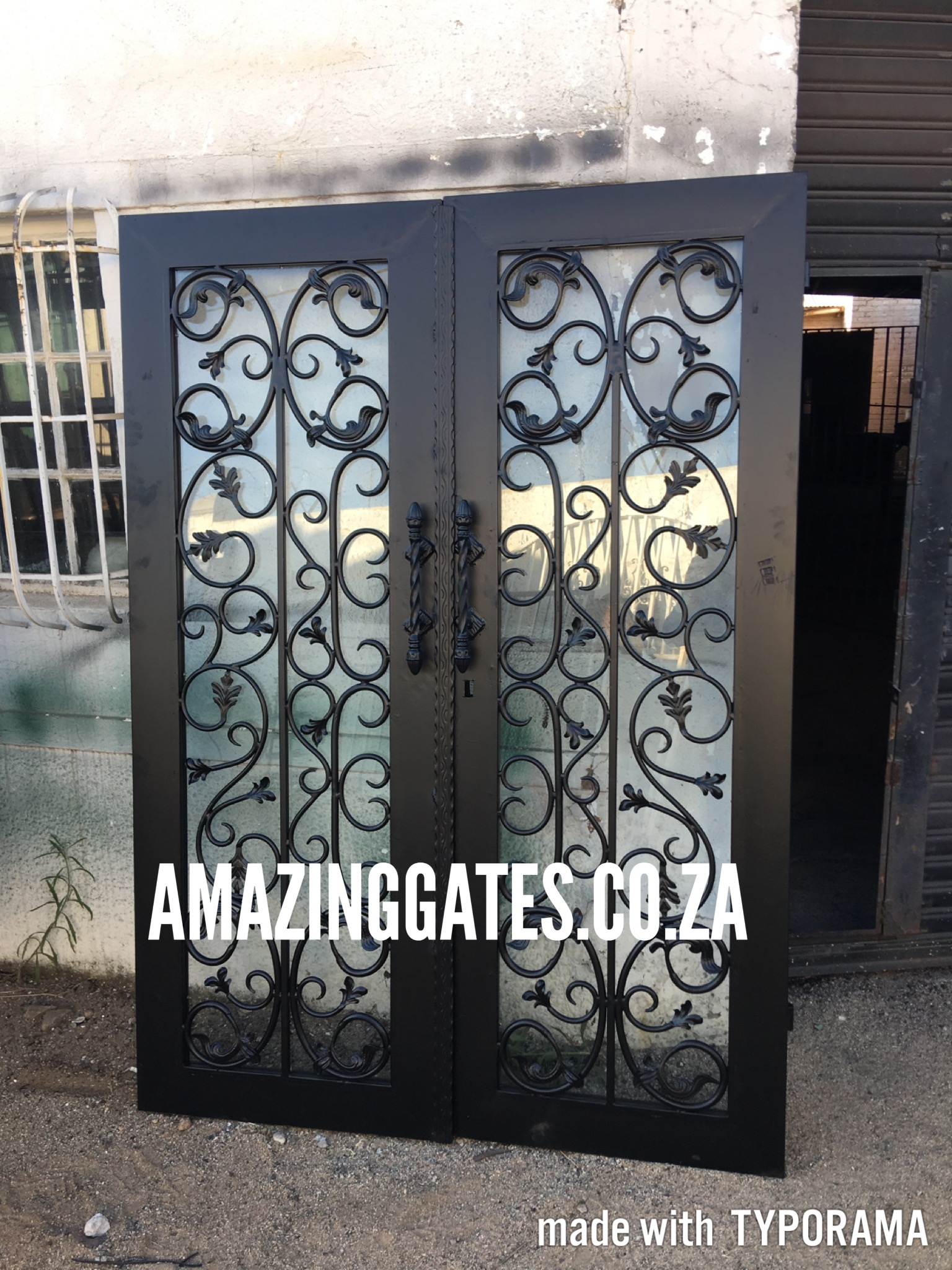 Wrought Iron Balustrades In Johannesburg Amazing Gates