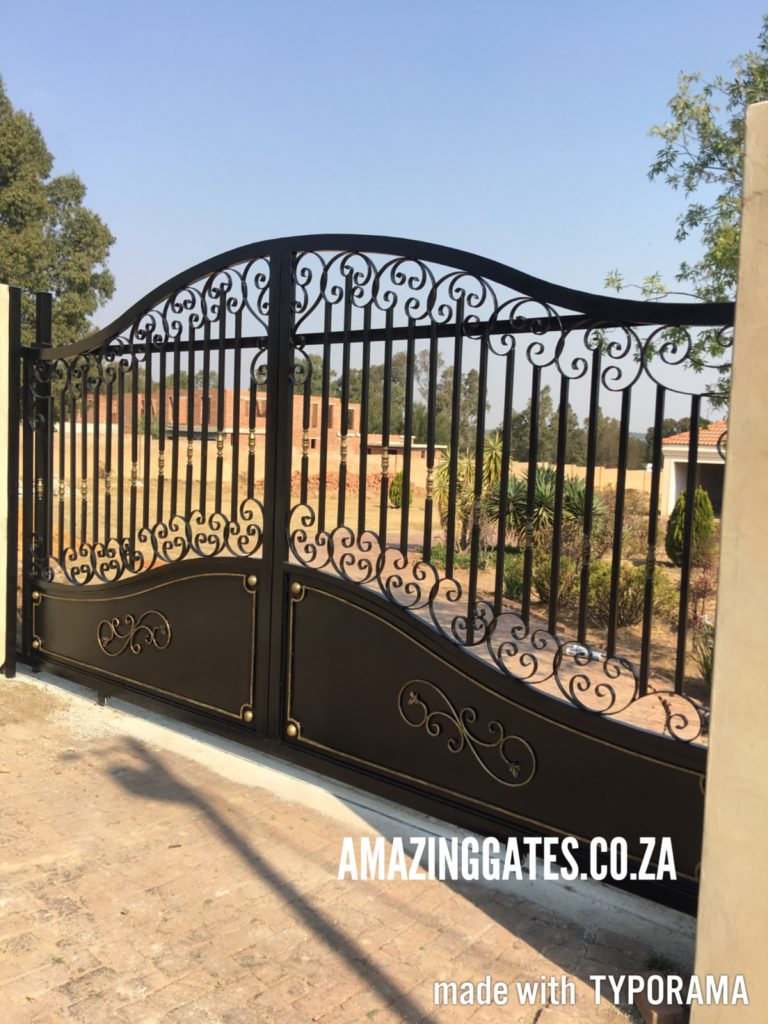 Top 10 driveway gate instillation tips in gauteng for Ready made driveway gates