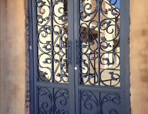 ORNAMENTAL STEEL GATES IN JOHANNESBURG