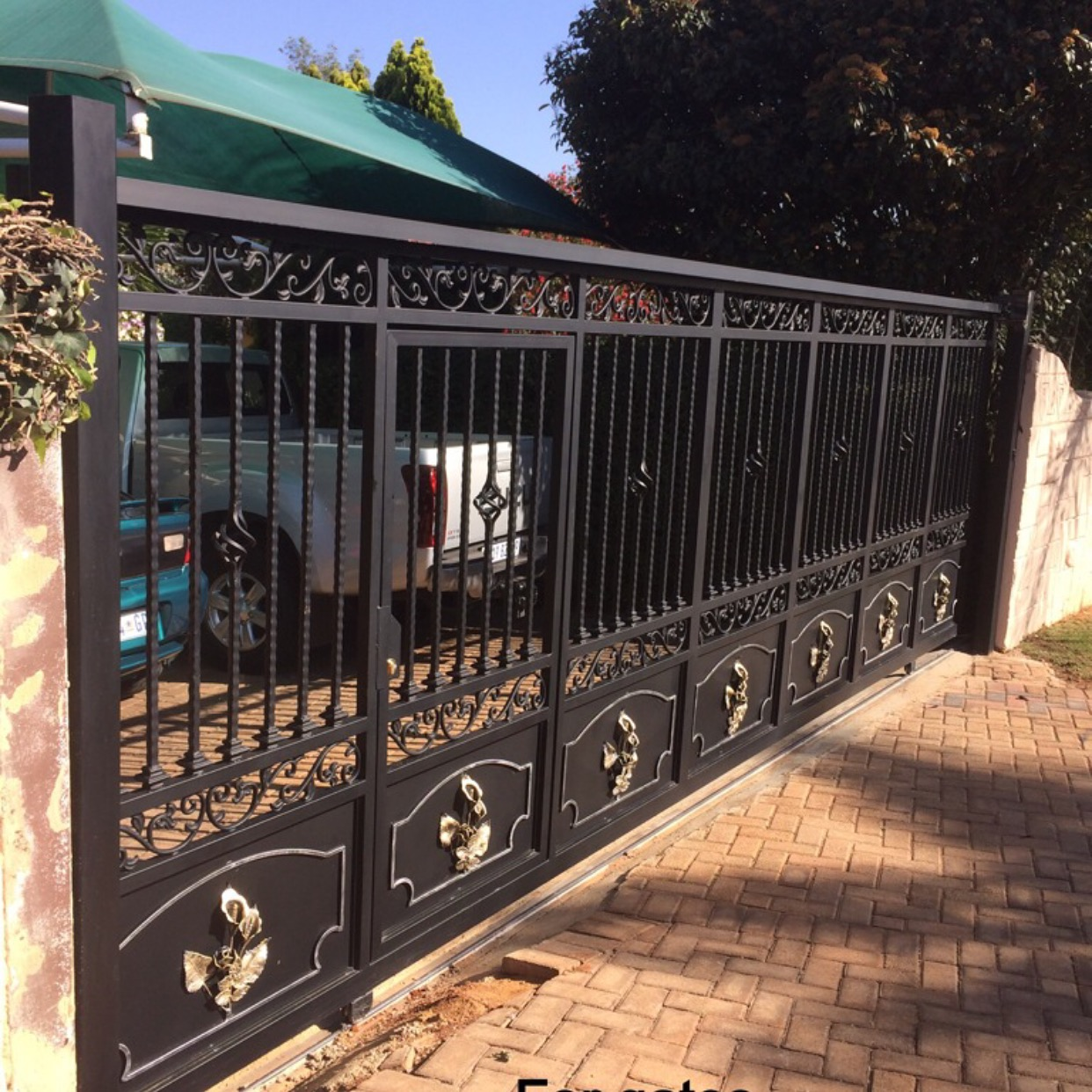 Home Driveway Design Ideas: Driveway Gates In Johannesburg