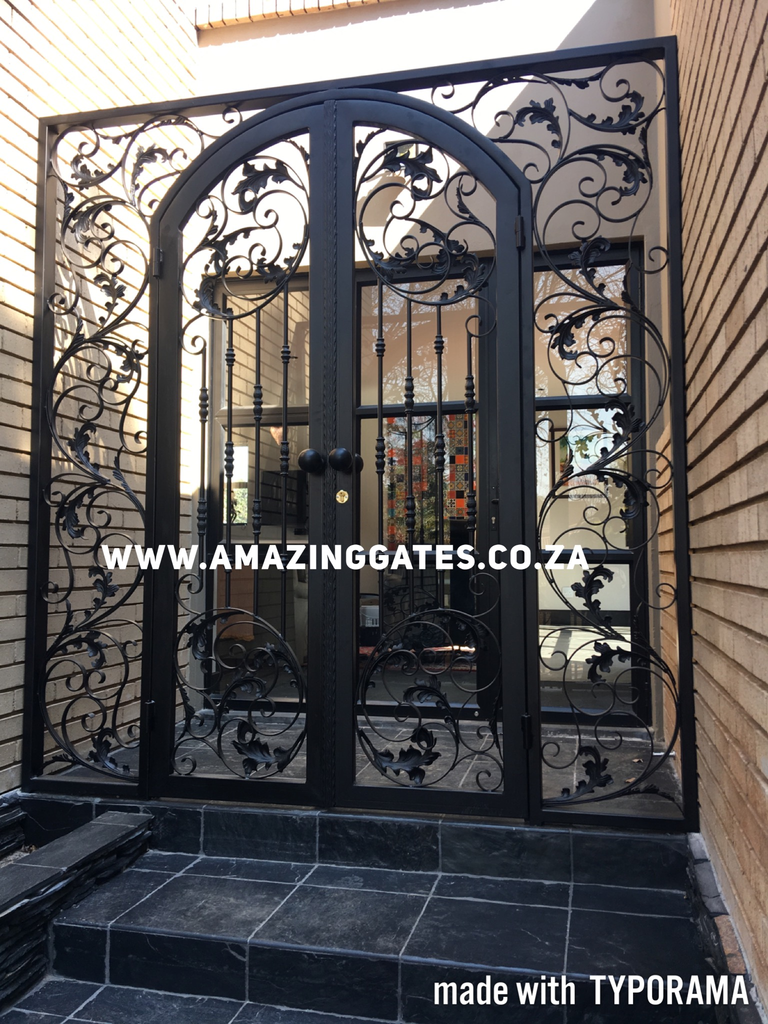 Security gate prices in johannesburg amazing gates - Beautiful house gates designs ...