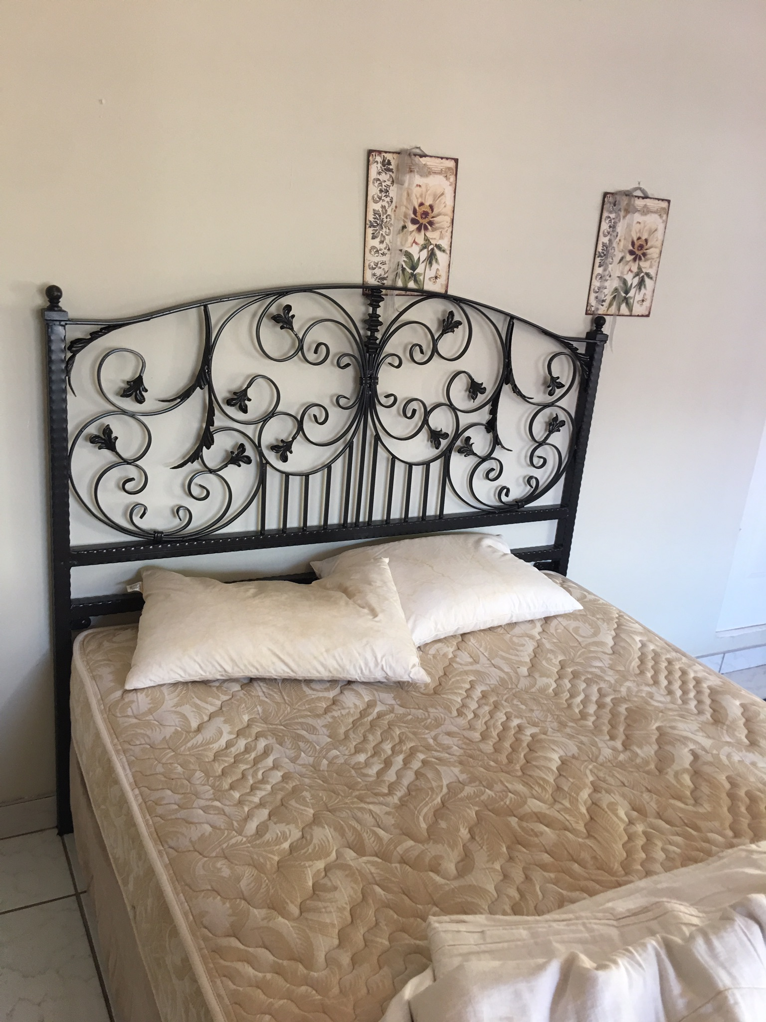 Wrought Iron Headboard For A Double Bed Amazing Gates